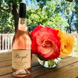 <pre>2020 Ruby Tuesday Rosé, Big Ranch Vineyard® Estate</pre>